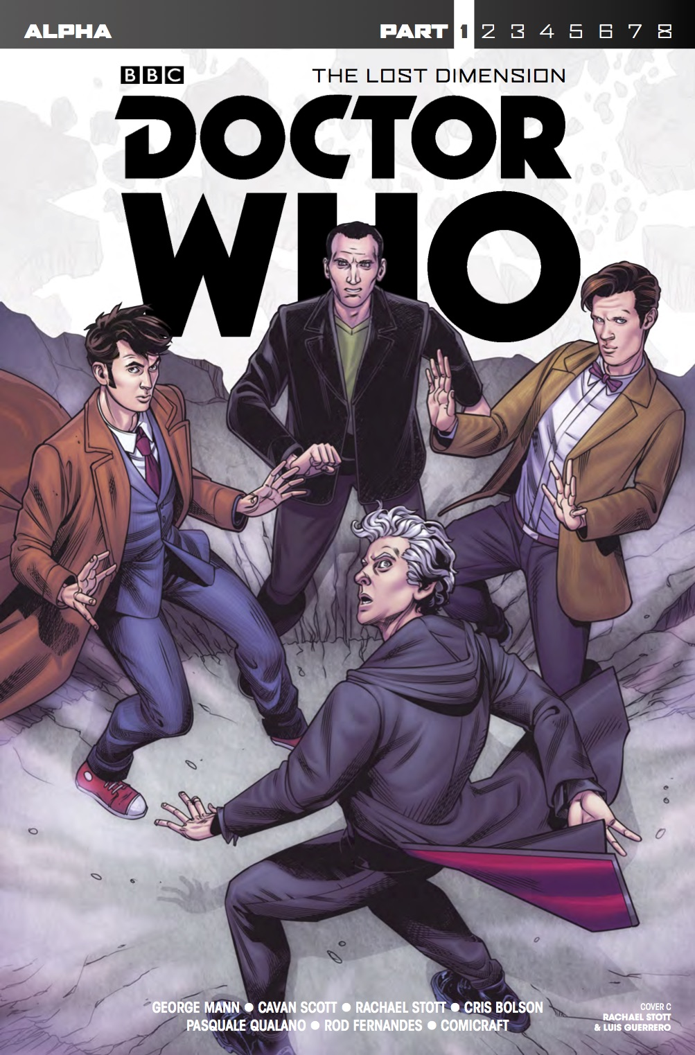 DOCTOR WHO: THE LOST DIMENSION - ALPHA -COVER C: RACHAEL STOTT AND LUIS GUERRERO