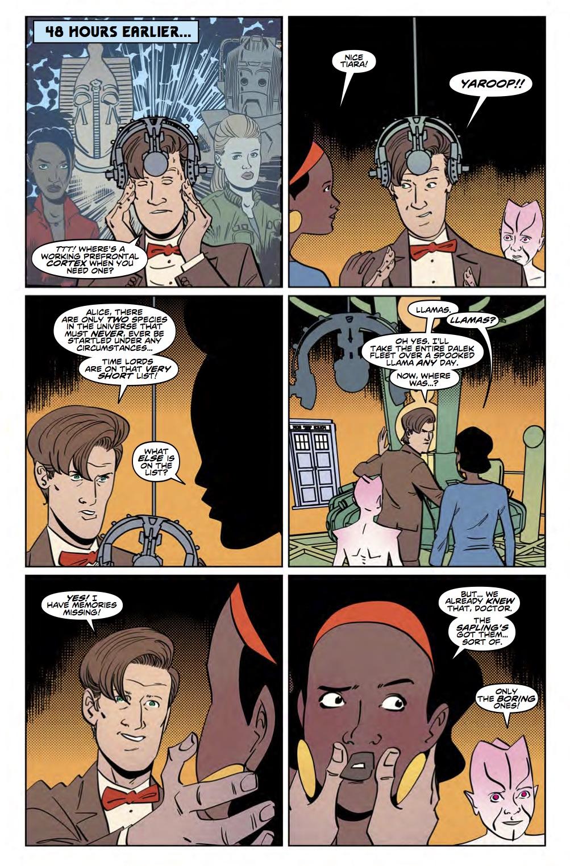 TITAN COMICS - DOCTOR WHO 11TH YEAR THREE #9