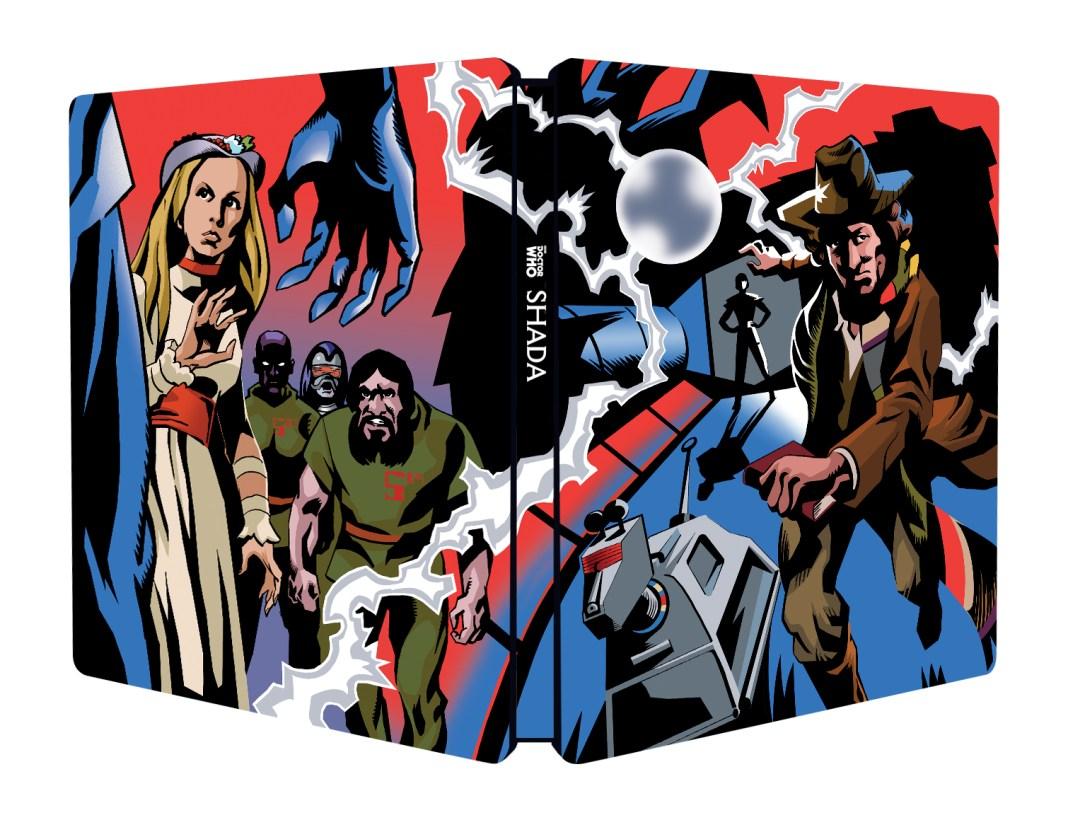 Doctor Who - Shada Steelbox Cover - BBC Worldwide