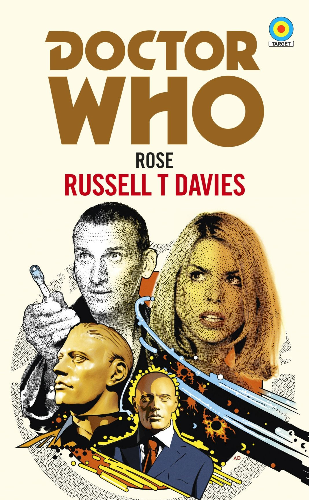 Rose - Target book cover by Anthony Dry (c) BBC Books