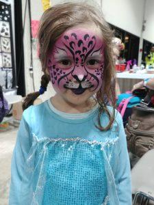 Pink Cheetah Elsa