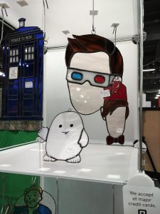 Doctor Who Stained Glass