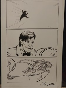 Josh Adams Doctor Who Illustration