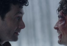 Carl (David Tennant) & Sean (Robert Sheehan) - Bad Samaritan - (c) Electric Entertainment