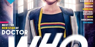 Jodie Whittaker on EW Cover