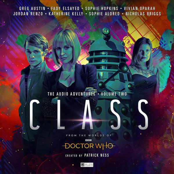 Big Finish - The Class - Volume 2 - Artwork by Stuart Manning - (c) Big Finish
