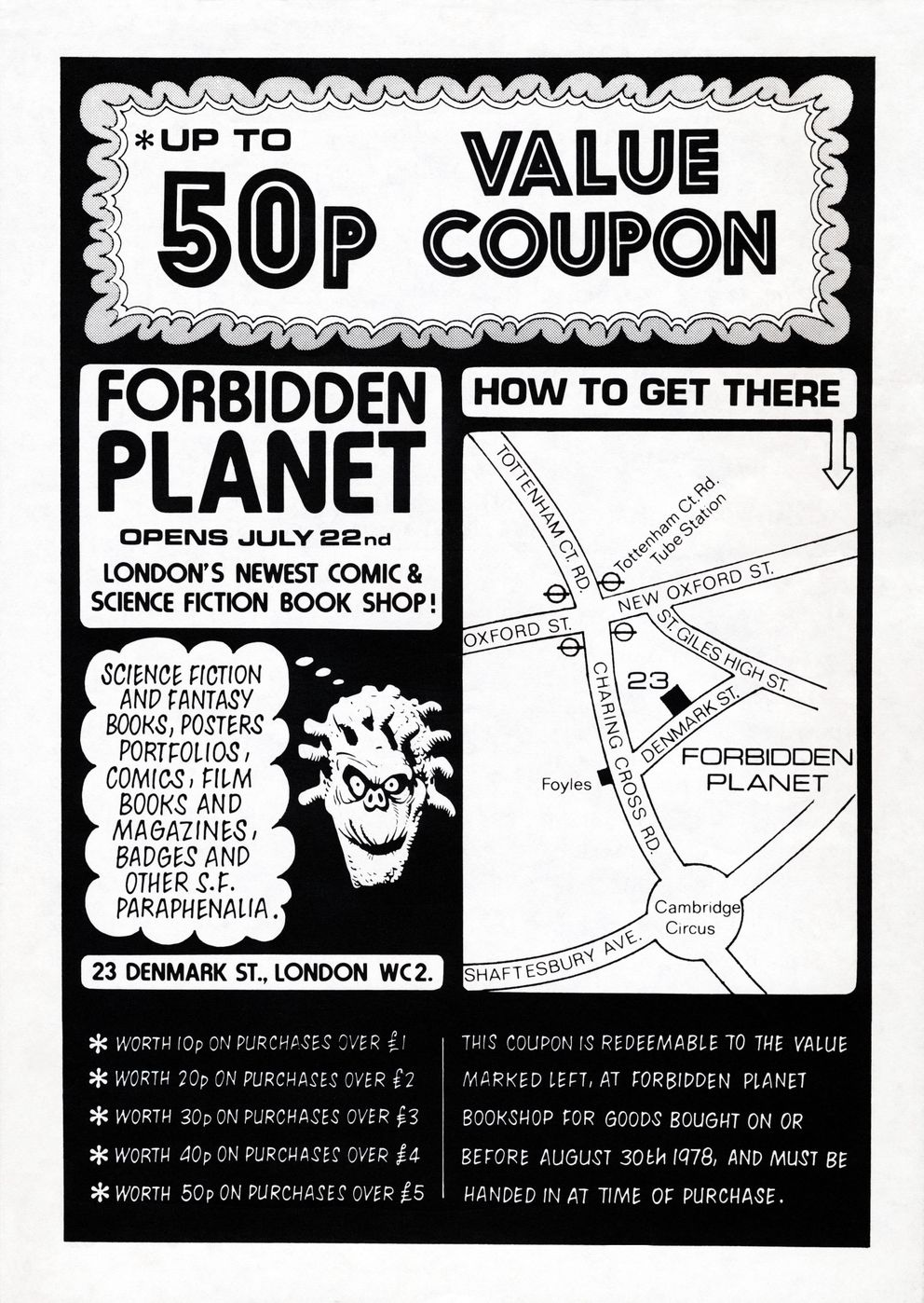 bd3fff3e Forbidden Planet Releases Unseen Archive To Mark 40th Anniversary ...