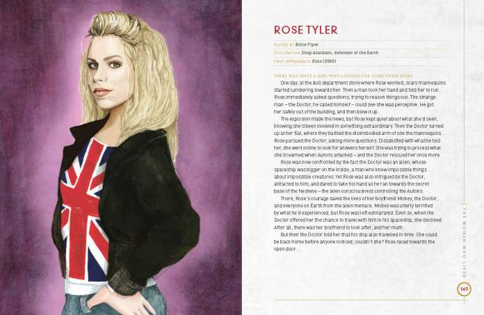 Doctor Who: The Women Who Lived - Amazing Tales for Future Time Lords Pg. 149 (c) BBC Books