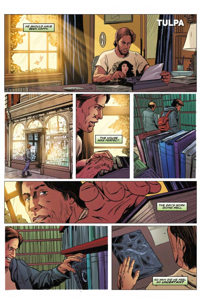 Doctor Who: The Road to the Thirteenth Doctor #3, Pg 1. Art by Brian Williamson. (c) BBC