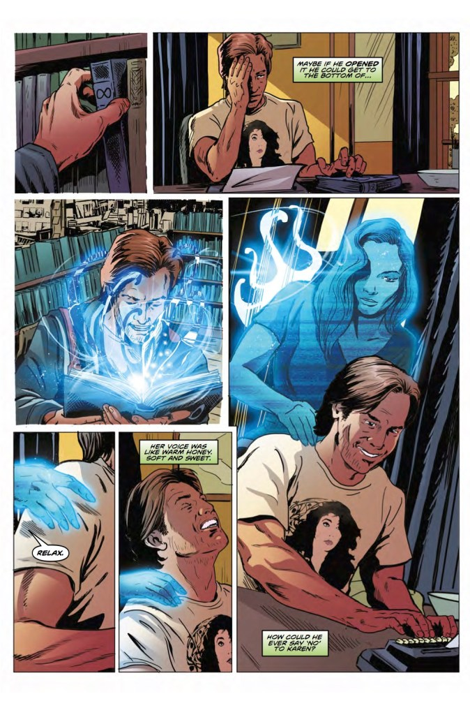 Doctor Who: The Road to the Thirteenth Doctor #3, Pg 2. Art by Brian Williamson.