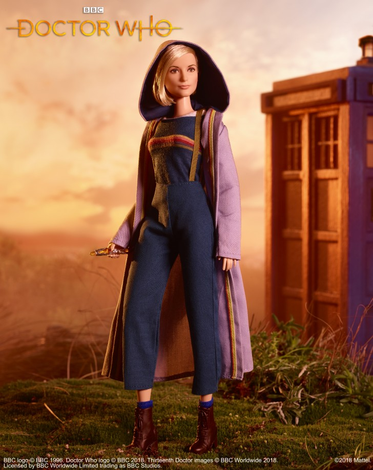 Doctor Who Barbie