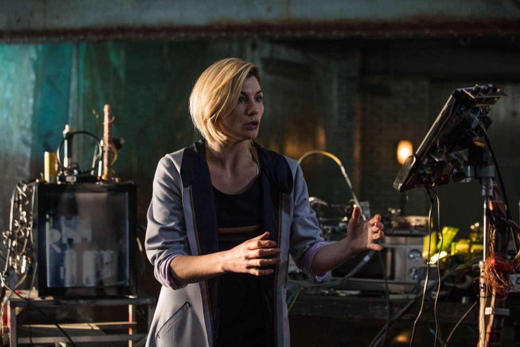 Doctor Who Series 11 - Episode 1- The Doctor (JODIE WHITTAKER) - (C) BBC / BBC Studios - Photographer:Sophie Mutevelian