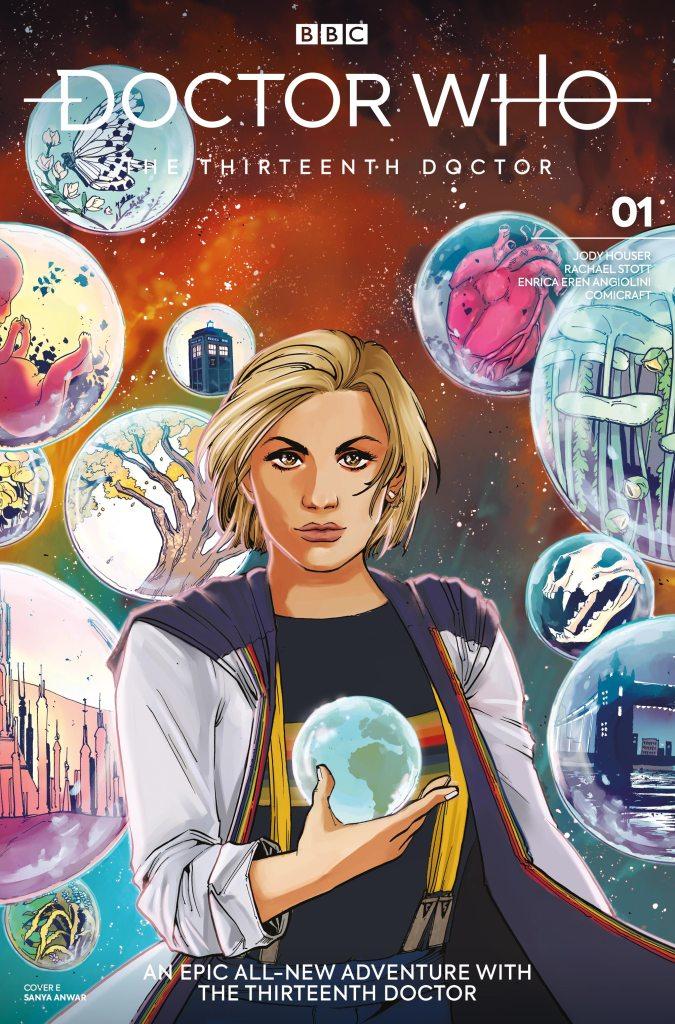 Doctor Who: Thirteenth Doctor #1 - Sanya Anwar Variant
