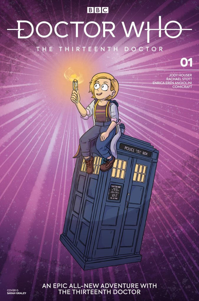 Doctor Who: Thirteenth Doctor #1 - Sarah Graley Variant