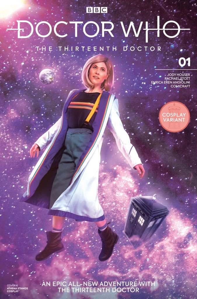 Doctor Who: Thirteenth Doctor #1 - Athena Stamos Cosplay Variant