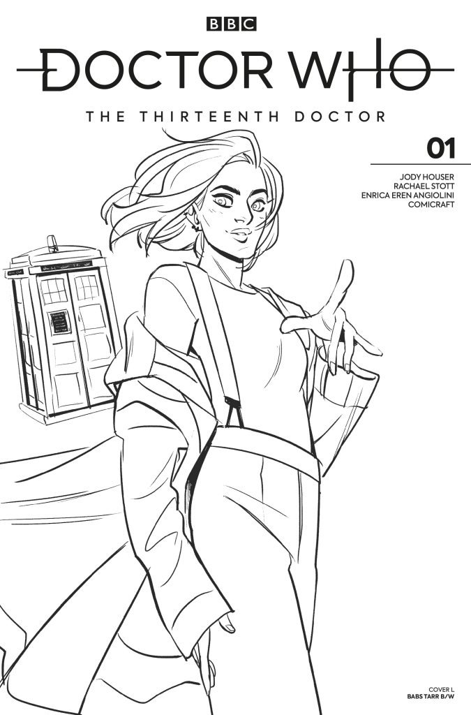 Doctor Who: Thirteenth Doctor #1 - Babs Tarr B&W Variant