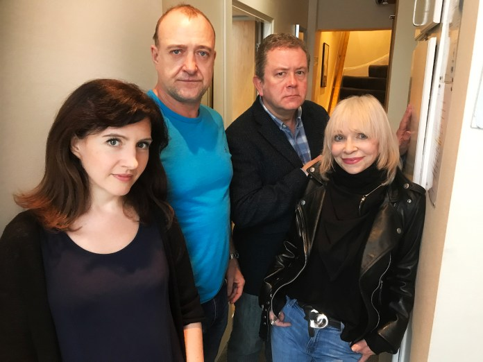 Daisy Ashford, Tim Treloar, Jon Culshaw and Katy Manning