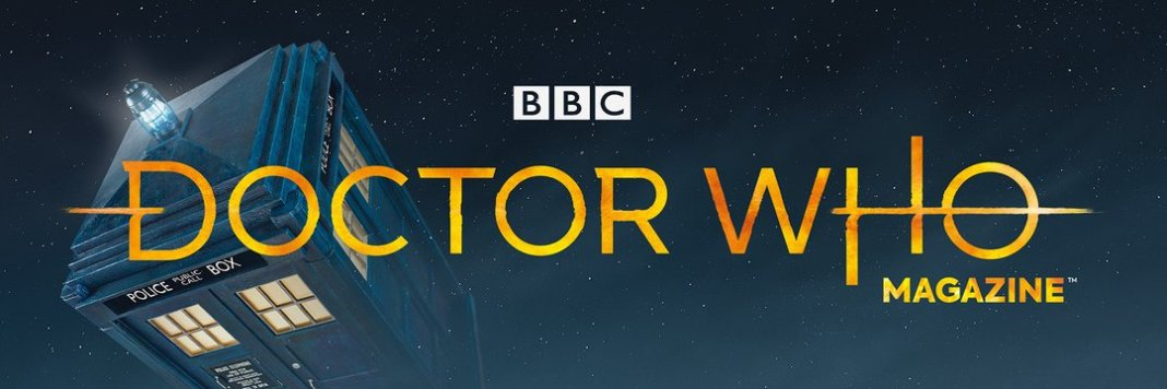 Doctor Who Magazine logo (2018) (c) Panini