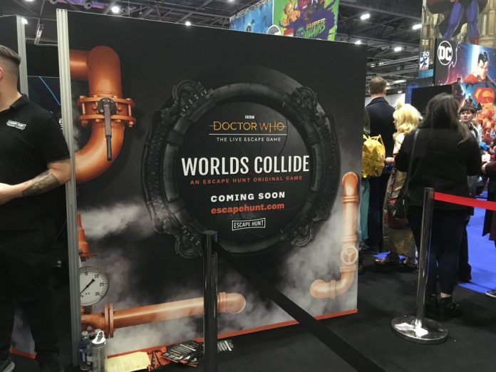 Doctor Who: The Live Escape Game - Worlds Collide at MCM London Comic Con 2018