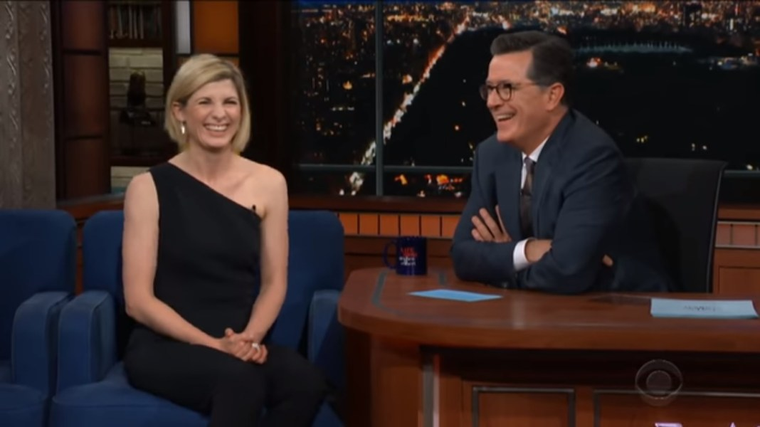 Jodie Whittaker - The Late Show With Stephen Colbert - 03.10.18