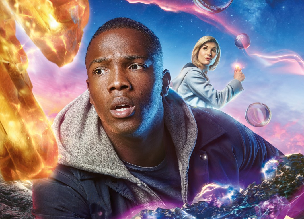 Ryan Sinclair (Tosin Cole) and The Doctor (Jodie Whittaker - (C) BBC Studios / BBC - Photographer: Henrik Knudsen