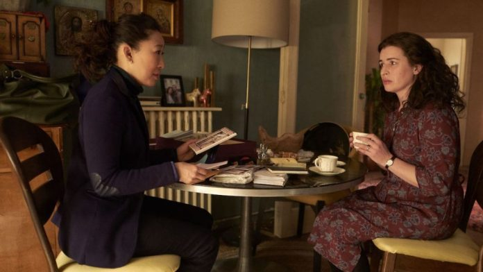 MI5 agent Eve Polastri (Sandra Oh) gets closer to the truth when she tracks down Villanelle's former lover Anna (Susan Lynch) (c) Sid Gentle Films/BBC