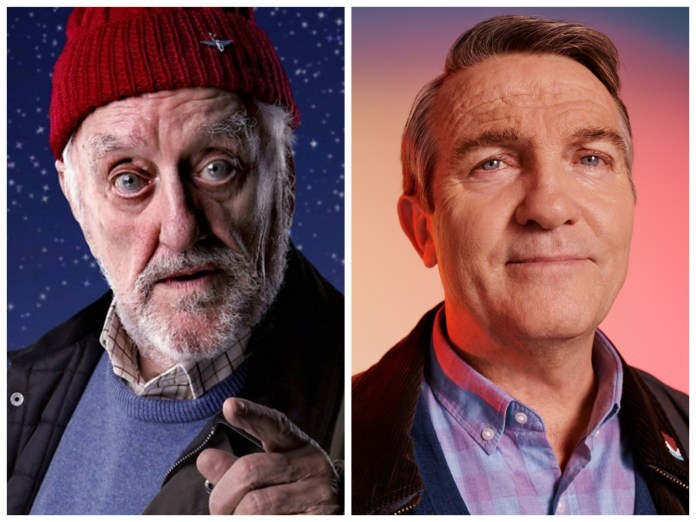 Wilfred Mott (Bernard Cribbins) and Graham O'Brien (Bradley Walsh) (c) BBC