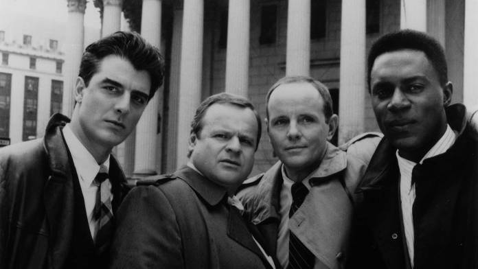Chris Noth was one of the original cast members of Law & Order. He went on to appear in 147 episode, plus a TV movie (c) NBC
