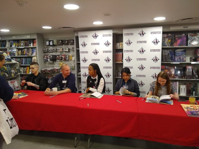The Women Who Lived - Book Signing (Forbidden Planet, London, 28/9/18)