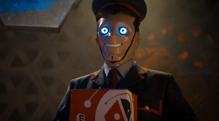 Doctor Who - Series 11 - Episode 7 - Kerblam! - Post Bot In The TARDIS - Episode Still