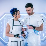 Doctor Who – Series 11 – Ep 5 – The Tsuranga Conundrum - Mabil (LOIS CHIMIMBA), Astos (BRETT GOLDSTEIN) - (c) BBC Studios