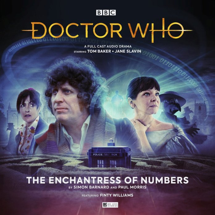 Doctor Who: The Enchantress of Numbers. Cover by Anthony Lamb (c) Big Finish