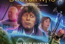 Doctor Who: The False Guardian. Cover by Anthony Lamb (c) Big Finish