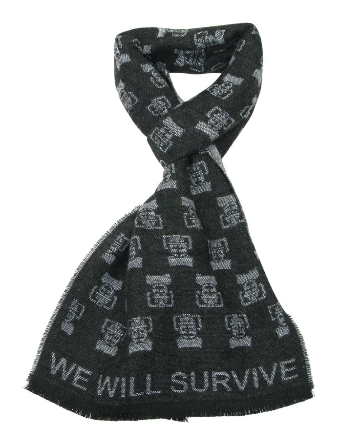 Lovari - Doctor Who Range - Cyberman Scarf