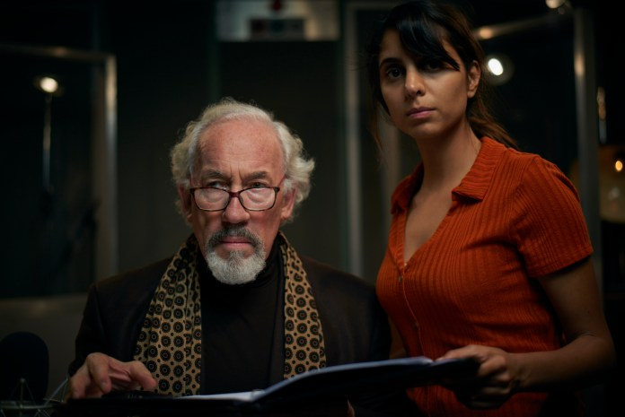 Mark Gatiss' The Dead Room Aubrey (SIMON CALLOW), Tara (ANJII MOHINDRA) - (C) Adorable Media - Photographer: Steve Schofield
