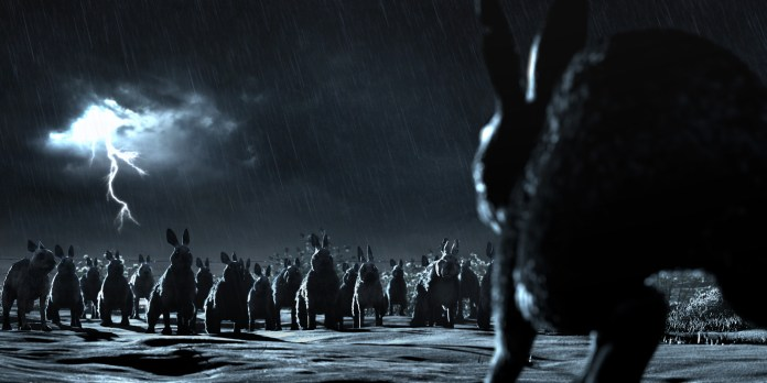 Watership Down - - Episode: The Escape (No. 3) - Picture Shows: Woundwort readies his army for battle - (C) Watership Down - Photographer: Screengrab