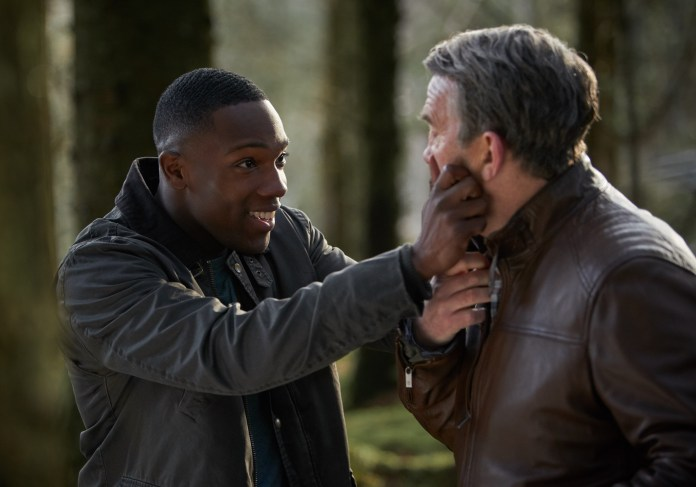 Doctor Who Series 11 - Ep 9 - It Takes You Away - Ryan (TOSIN COLE), Graham (BRADLEY WALSH) - (C) BBC / BBC Studios - Photographer: Simon Ridgway
