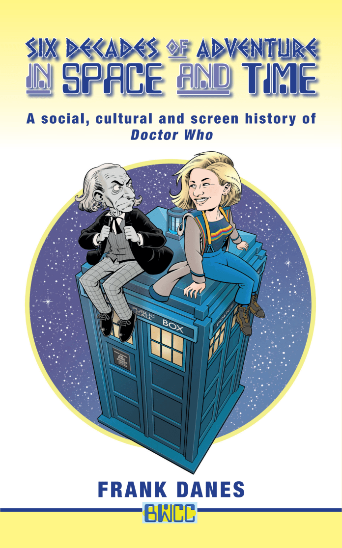 Six Decades of Adventure in Space and Time. Cover by Roger Langridge
