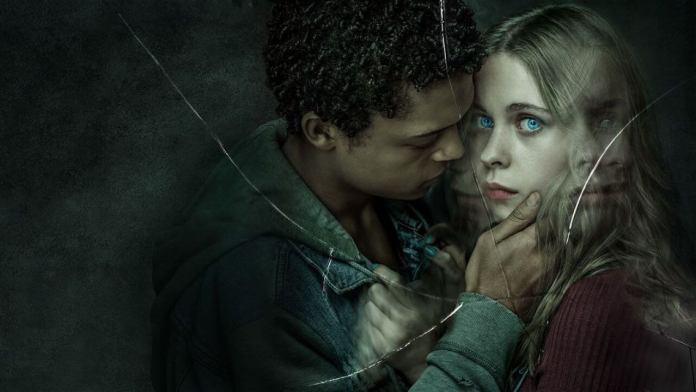 Harry (Percelle Ascott) and June (Sorcha Groundsell) in The Innocents (c) Netflix