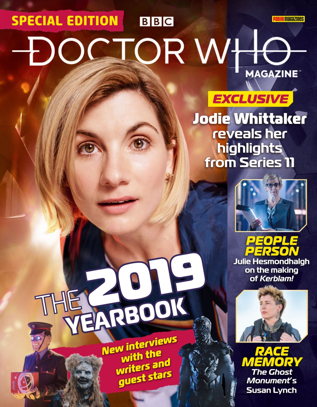 Doctor Who Magazine 2019 Yearbook - Cover