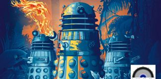 The Daleks Master Plan vinyl cover (c) Demon Music Group