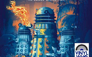 The Daleks Master Plan vinyl cover (c) Demon Music Group