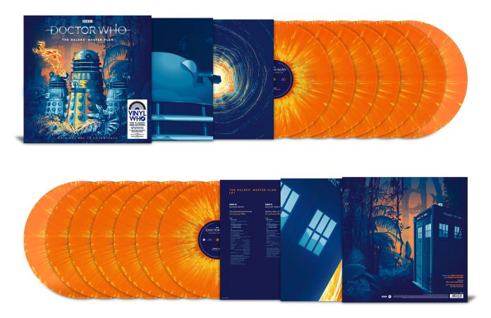 The Daleks Master Plan Exclusive Edition is available from Amazon and limited to 1,000 copies (c) Demon Music Group