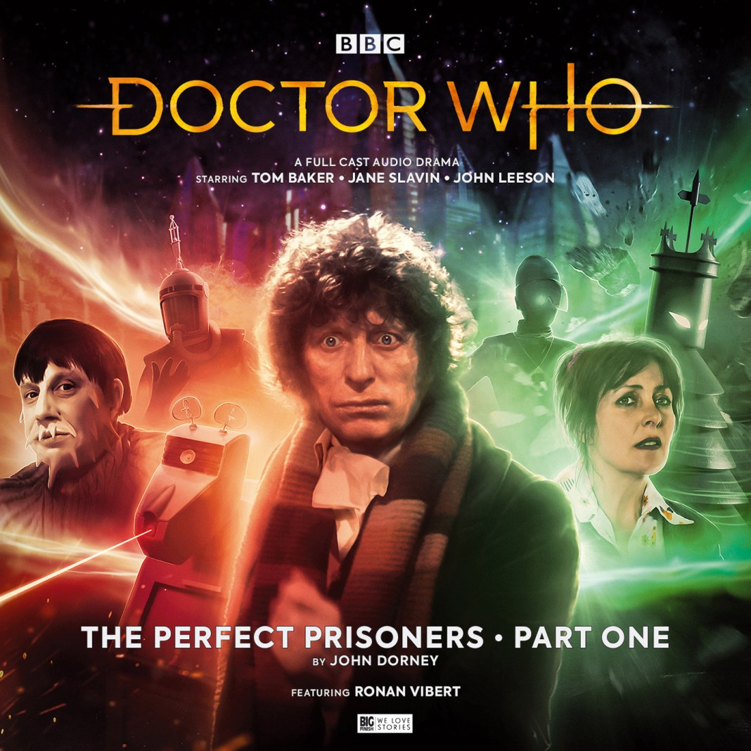 Cover to The Perfect Prisoners Part 1 by Anthony Lamb (c) Big Finish