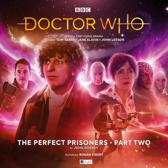 The cover to The Pefect Prisoners Part Two by Anthony Lamb (c) Big Finish