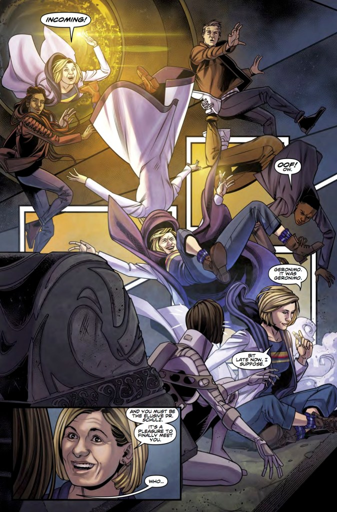 Titan Comics - Doctor Who: The Thirteenth Doctor #4 - Page 2