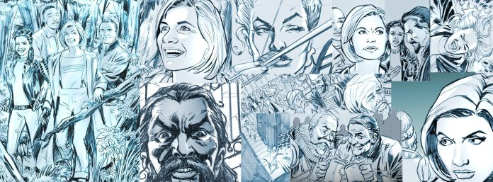 Herald of Madness begins this issue, with pencils by Mike Collins (c) Panini