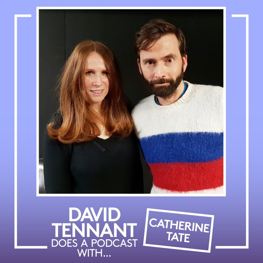 Doctor Who co-stars reunite for David Tennant Does a Podcast with... Catherine Tate (c) Something Else and No Mystery