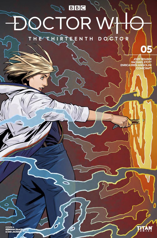 Titan Comics – Doctor Who: The Thirteenth Doctor #5 - Cover C: Rebekah Isaacs and Dan Jackson