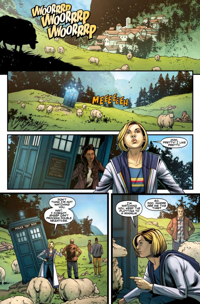 Titan Comics – Doctor Who: The Thirteenth Doctor #5 – Page 1